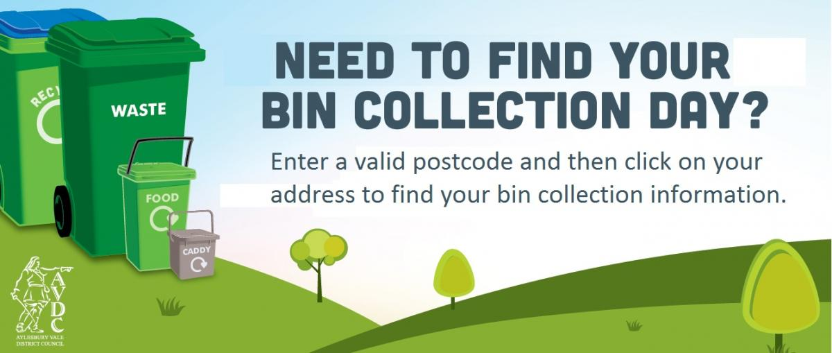 Find your bin collection date here.