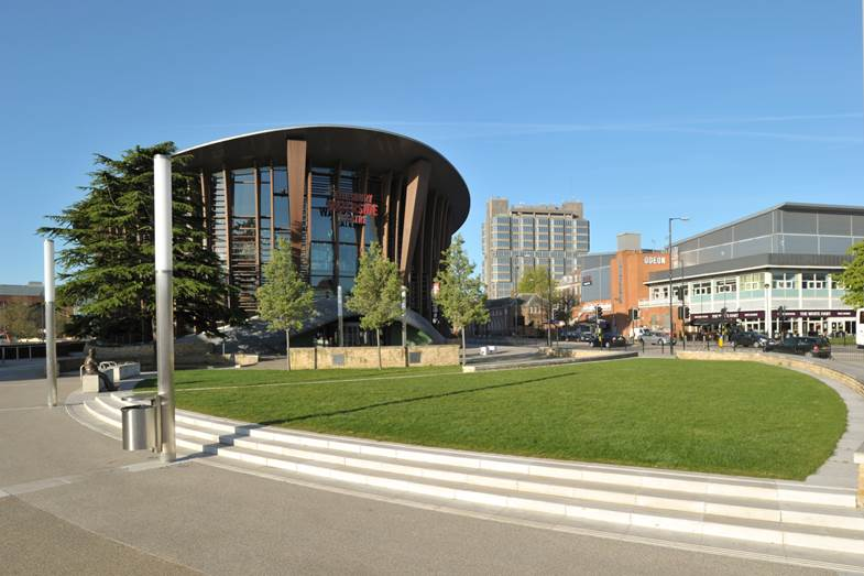 Waterside theatre, Aylesbury