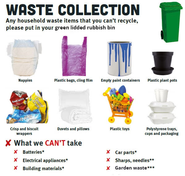 Waste collection bin image