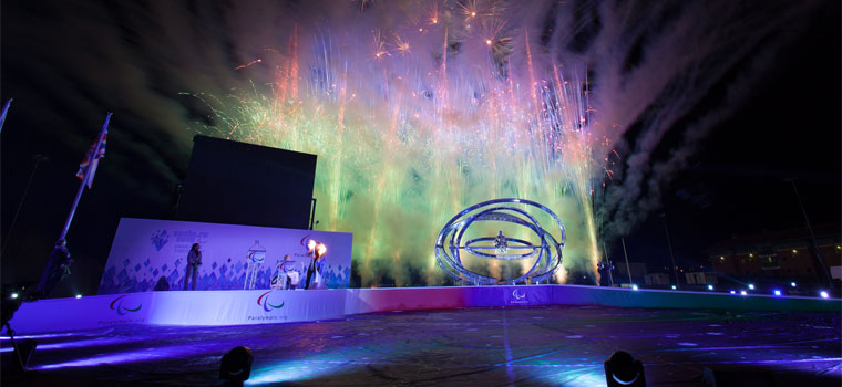Heritage Paralympic Flame Lighting Ceremony