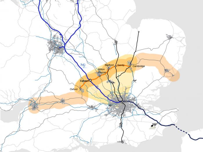 Oxford - Milton Keynes - Cambridge Growth Corridor