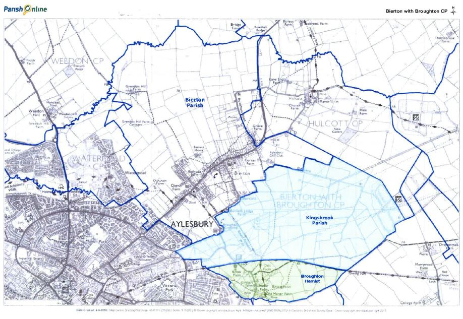 Map showing area for Community Governance Review
