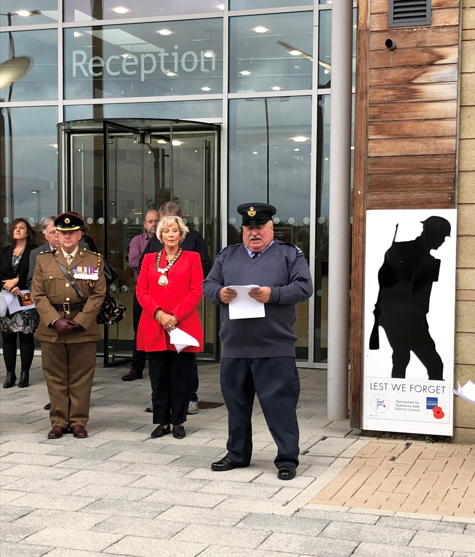 Silent Soldier unveiling