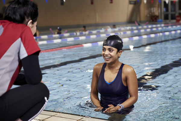 Buckinghamshire Council | Aylesbury Vale Area - Ladies only swimming lessons